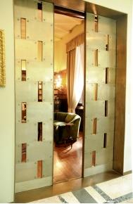 Villa Necchi sliding doors