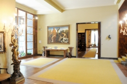 Villa Necchi entrance hall