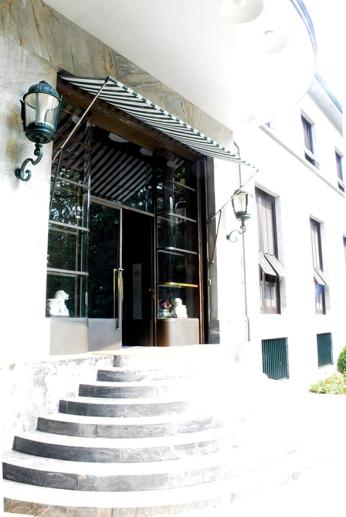 Villa Necchi entrance