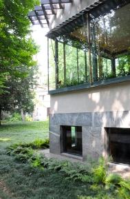 Villa Necchi detail facade