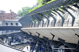 Calatrava's Stadelhofen train station