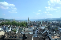 panorama from the top of Brasserie LIPP's tower