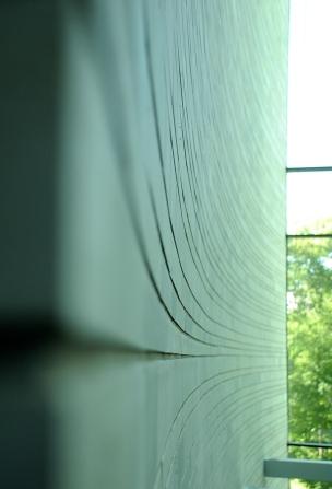 Kumu, wall detail