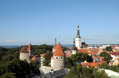 Tallinn from Toompea Hill