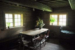 Old Latvian house, interior