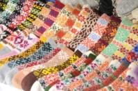 Handmade traditional socks