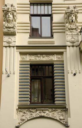 Art Nouveau, window
