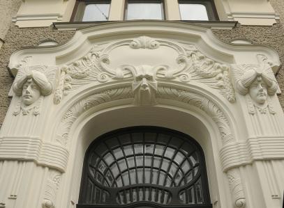 Art Nouveau, detail