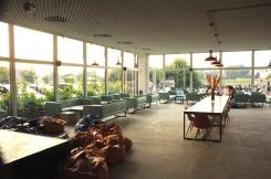 Hotel forum interior