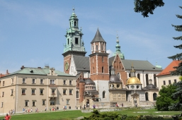inside the Wawel castle