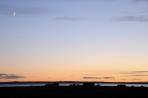 Sunset on the Ugii Lake