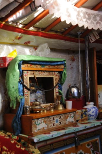 Home Budhist altar