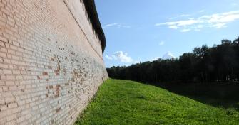 Kremlin's wall detail