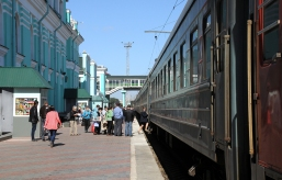 Omsk train station