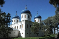 Yurev Monastery is from the back