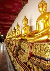 Wat Pho - corridor