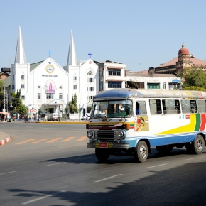 The colonial charm ofYangon