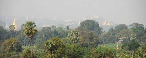 Inwa - panorama