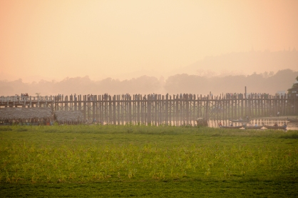 U Bein Bridge panorama